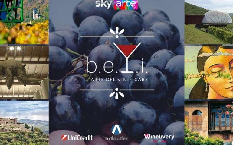 Il vino va in onda sullo schermo di Sky Arte