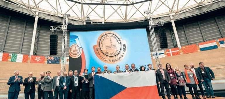 Il Concours Mondial de Bruxelles in Repubblica Ceca nel 2020